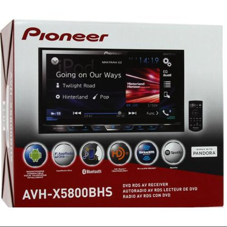 """NEW PIONEER AVH-X5800BHS 7"""" LCD DOUBLE DIN BLUETOOTH DVD (Replaced AVH-X5700BHS) by"""