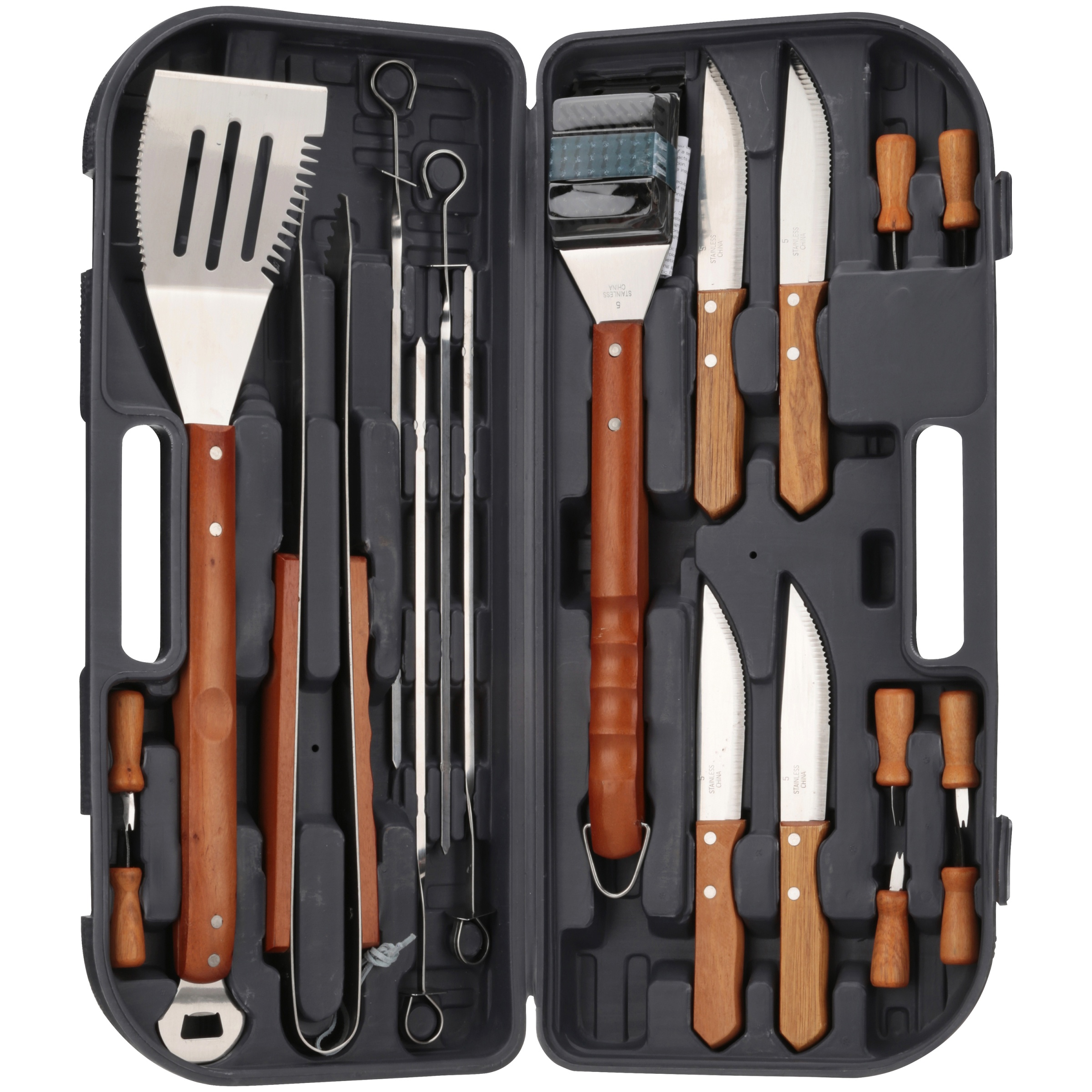 Mr. Bar-B-Q® Original Gourmet Tool Set 20 pc Box