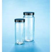 KIMBLE 5510448C-81 Straight-Sided Tall Glass Jar,PK24