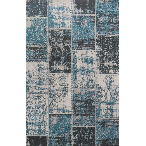 Superior Patchwork Jacquard Loom Woven Cotton Area Rug