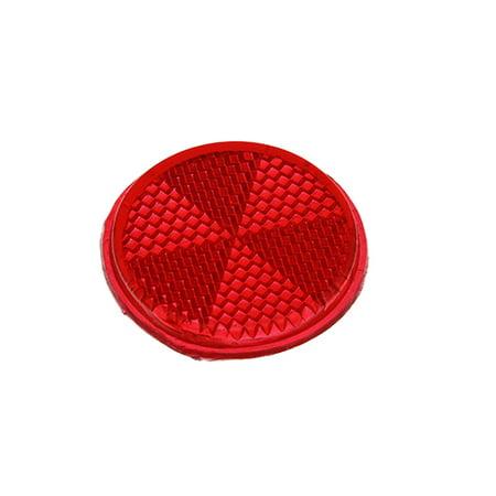 Mirror Reflector 42mm Red. (Backlight Reflector)