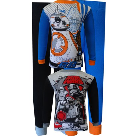 Star Wars Astromech Droid 4 Piece Cotton Boys Pajamas (Baby Star Wars)