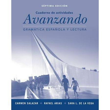 Workbook to Accompany Avanzando : Gramatica Espanol A Y (Cuaderno De Vocabulario Y Gramatica Spanish 1 Answers)