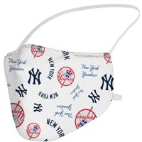New York Yankees Fanatics Branded Adult All Over Logo Face Covering