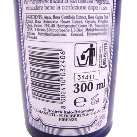 Acqua Distillata Alle Rose (Rose Water) 300 ml by Manetti Roberts - image 3 de 3