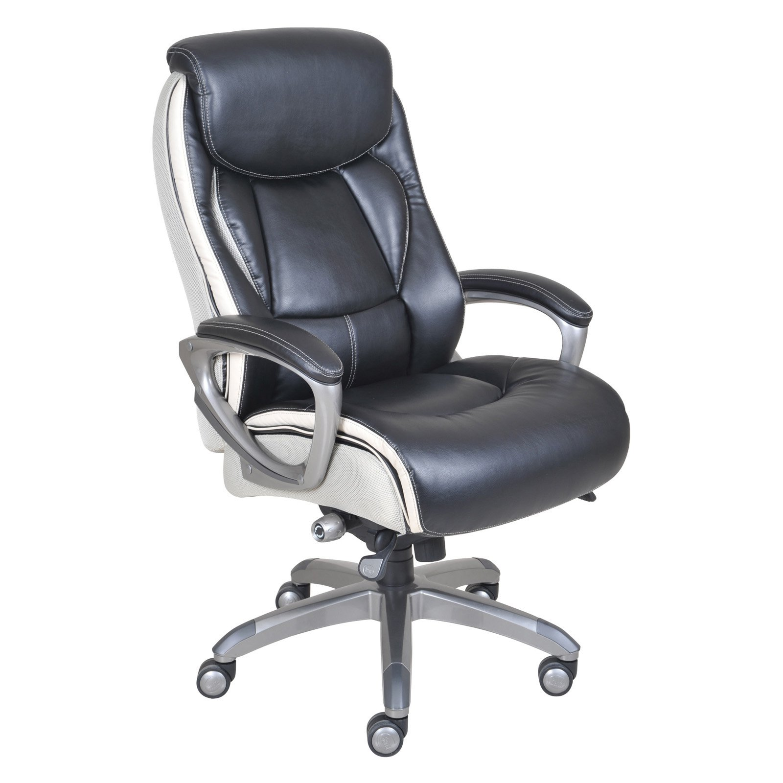 Office Furniture At Walmart: Serta Smart Layers Executive Office Chair, Tranquility