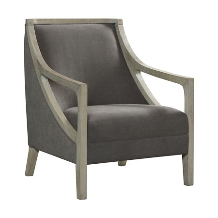 Dayna Accent Chair with White Wash Frame ()