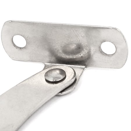 Furniture Cabinet Door Iron Lift up Lid Hinge Stay Support 140mmx22mmx1mm 1pair - image 2 of 3