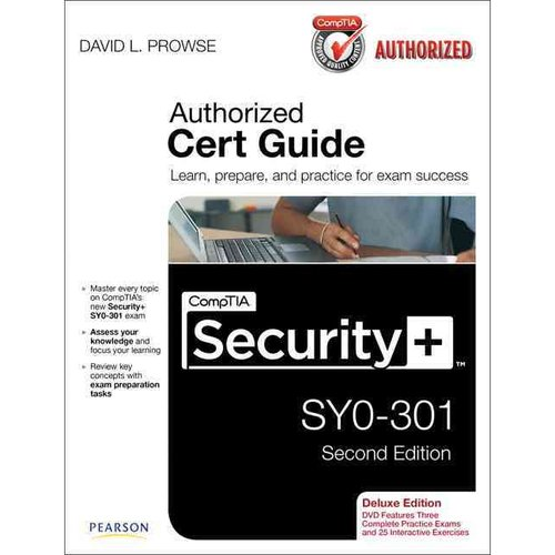 CompTIA Security  SY0-301 Cert Guide