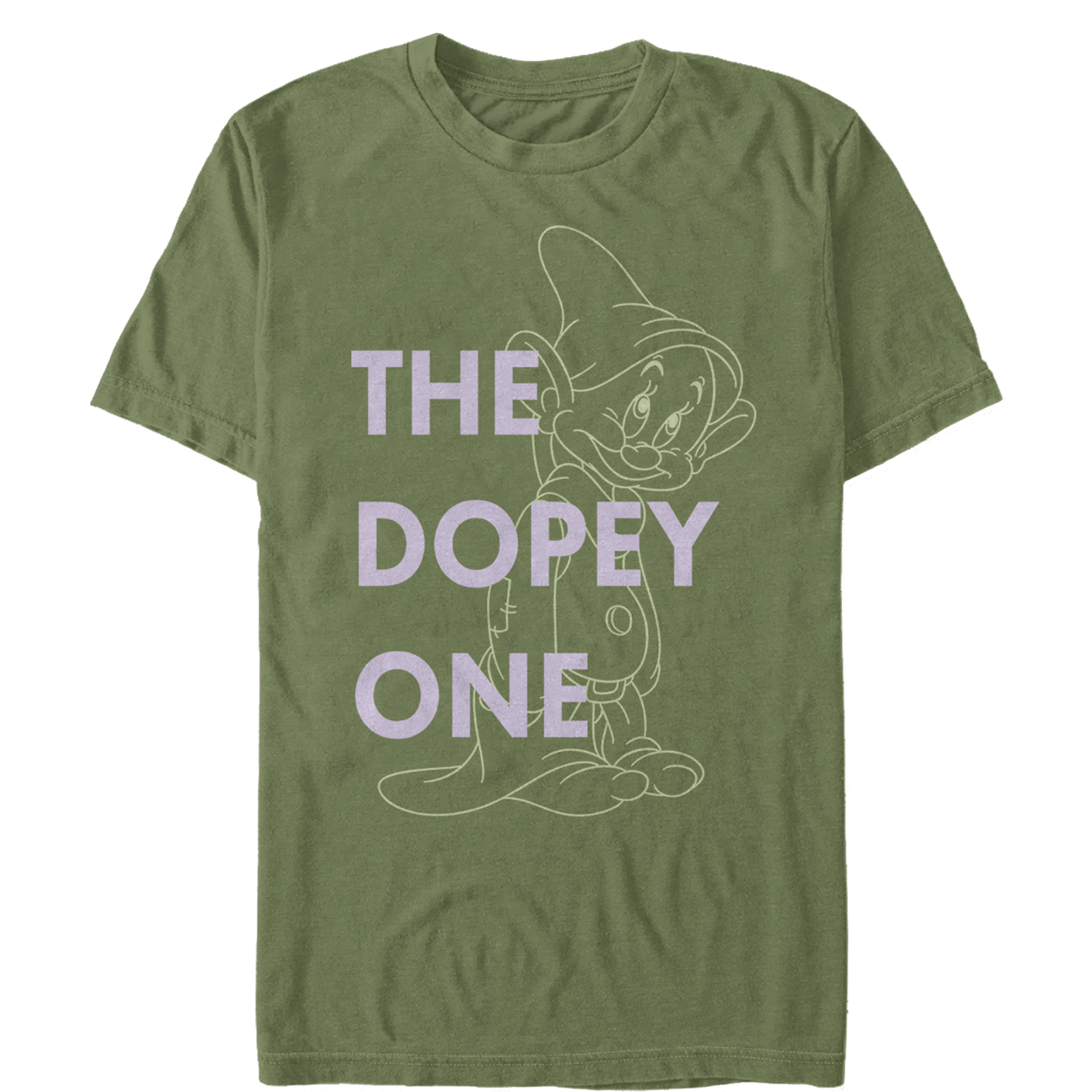 Snow White and the Seven Dwarves Men's Dopey One T-Shirt