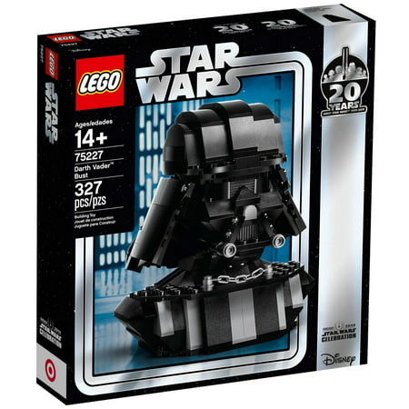 Star Wars 20th Anniversary Edition Darth Vader Bust Set LEGO 75227