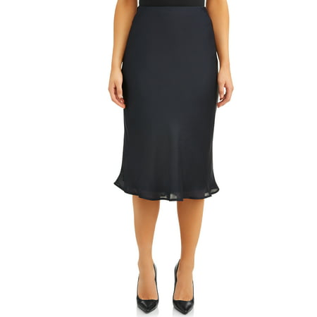 Women's Midi Slip Skirt