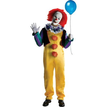 IT Pennywise Adult Halloween Costume](Costumes Halloween For Adults)