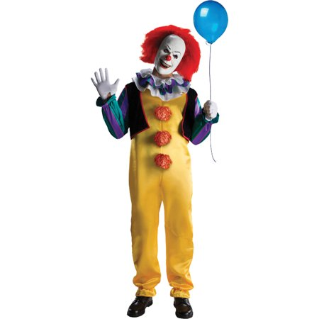 IT Pennywise Adult Halloween Costume - Halloween Costumes Last Minute Adults