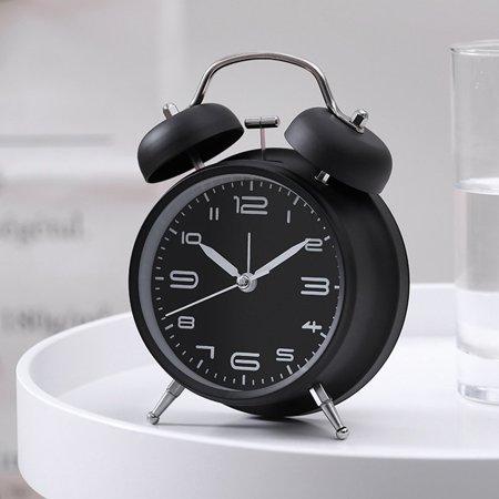 Creative Metal Alarm Clock with Night Light Mechanical Alarm Clock Fashion Multifunctional Personality Student Alarm Clock - image 2 of 6