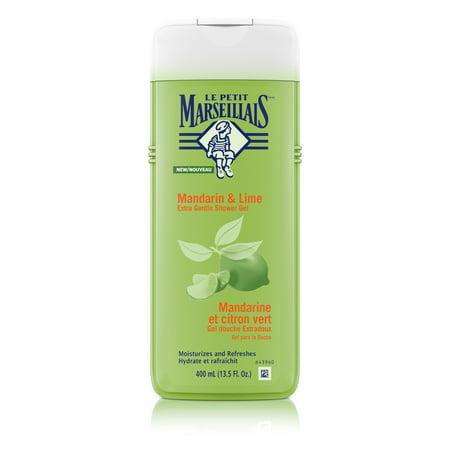 Le Petit Marseillais Shower Gel with Mandarin & Lime, 13.5 fl. oz