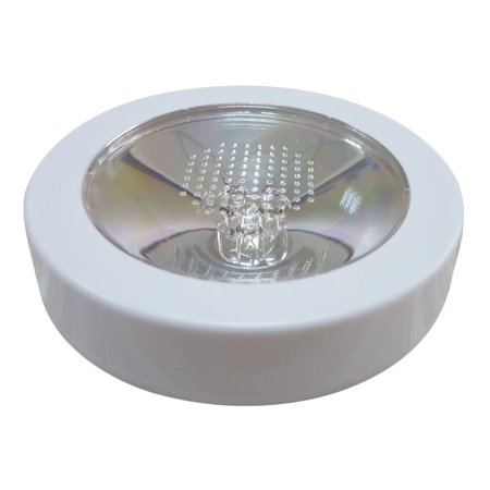 Round Shape LED Light Up Coasters Light Flash Cup Mat - White Shell + Colorful - Led Light Up Cups