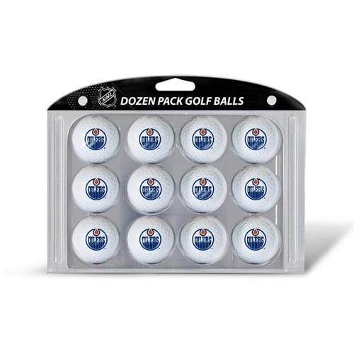 Team Golf NHL Edmonton Oilers Golf Balls, 12 Pack