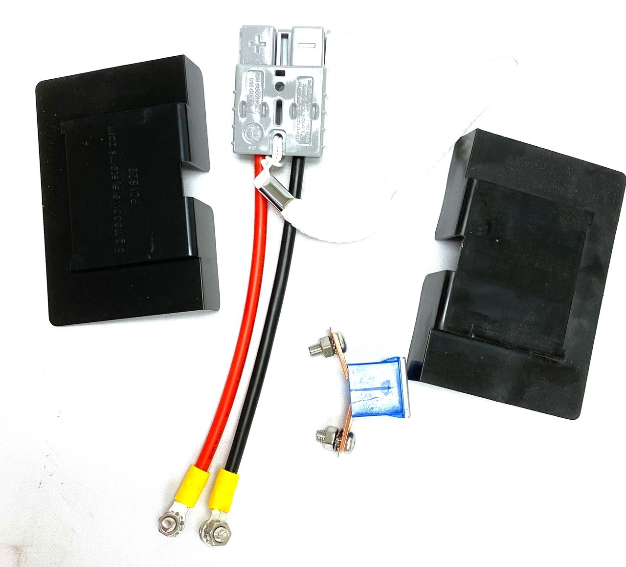 8 Pack SPS Brand Complete Wire Harness with Terminal Covers and Fuse for APC SU1400X106 RBC7 Battery Cartridge