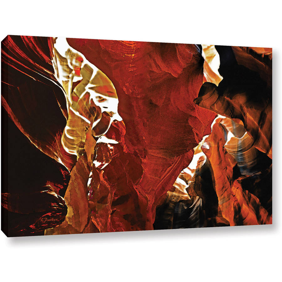 "ArtWall Linda Parker ""Slot Canyon Light From Above 6"" Gallery-wrapped Canvas"