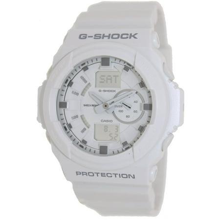 Casio Men's G-Shock GA150-7A White Resin Quartz Sport Watch