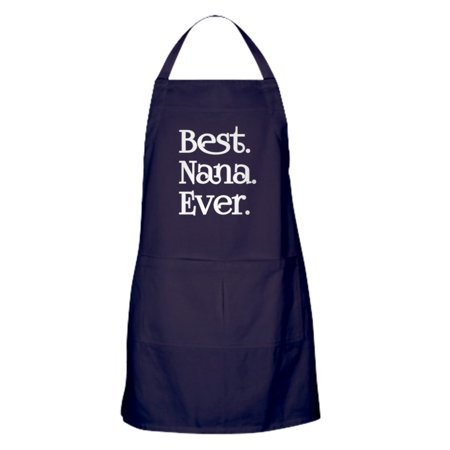 CafePress - BEST NANA EVER - Kitchen Apron with Pockets, Grilling Apron, Baking -