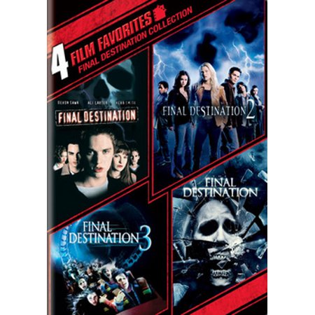 4 Film Favorites: Final Destination 1-4 - Halloween 4 Final Scene