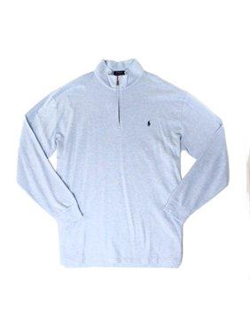 Polo Ralph Lauren NEW Blue Jamaica Mens Size 2LT 1/2 Zip Knit Sweater
