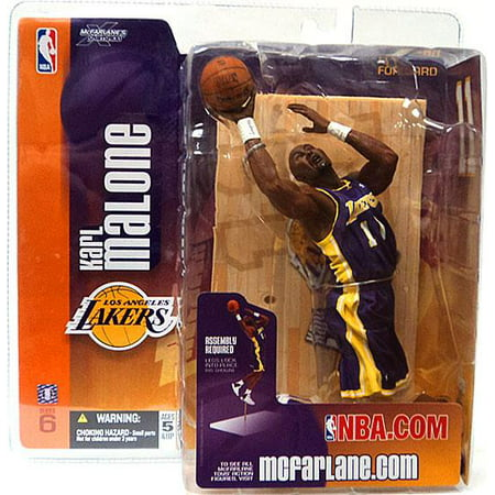 McFarlane NBA Sports Picks Series 6 Karl Malone Action Figure [Purple