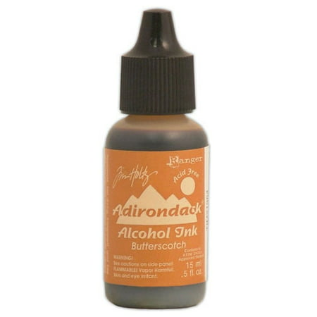 Alcohol Ink Earthtone Butterscotch .5Oz Bottle Dye