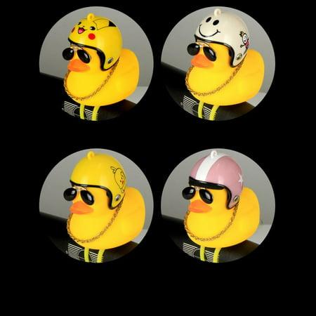 Broken Duck Sunglasses Duck Bicycle Duck Bell Social Turbo Duck Horn Car Light - image 2 of 10