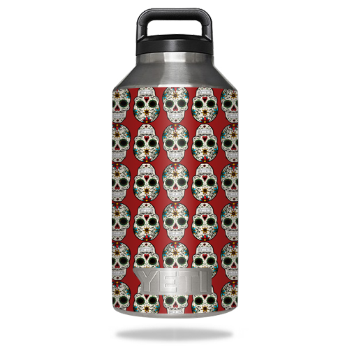 MightySkins Skin For YETI Bottle 18 oz, 36 64 One Gallon Jug, Half Jug | Protective, Durable, and Unique Vinyl Decal wrap cover Easy To Apply, Remove, Change Styles Made in the USA
