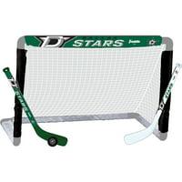 Franklin Sports NHL Dallas Stars Mini Hockey Set