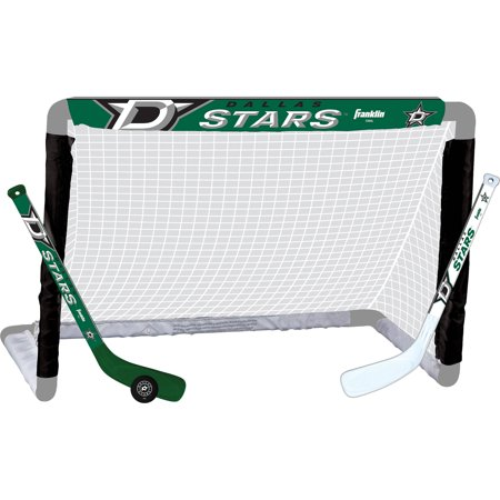 Franklin Sports NHL Dallas Stars Mini Hockey Set