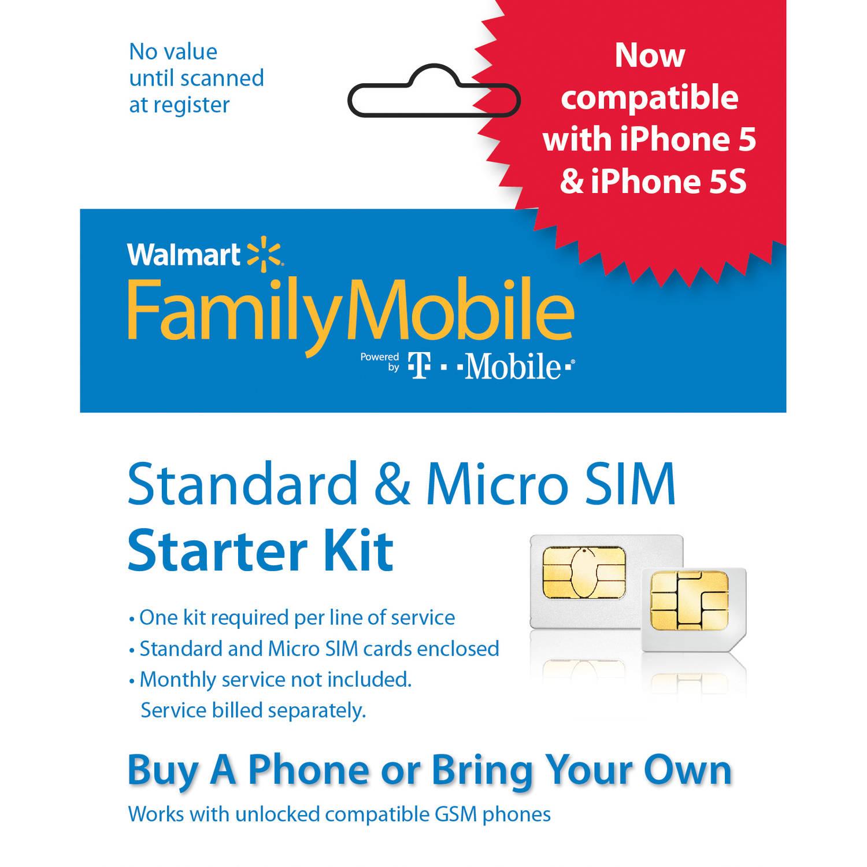 Walmart Family Mobile SIM Starter Kit