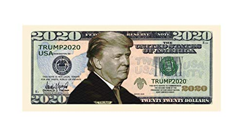 100 pack Re-Election Gift Donald Trump 2020 Dollar Bill