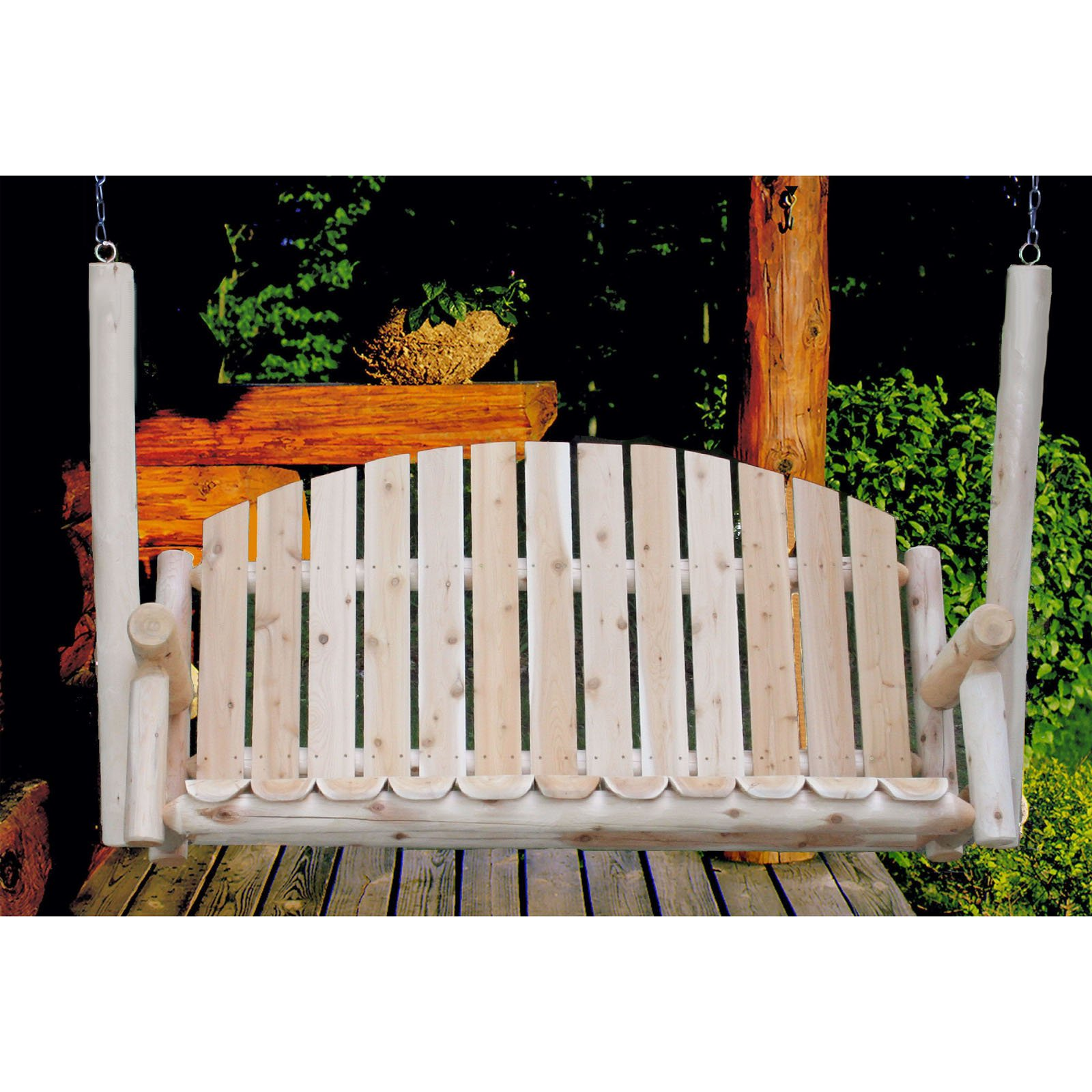 Lakeland Mills Country Porch Swing