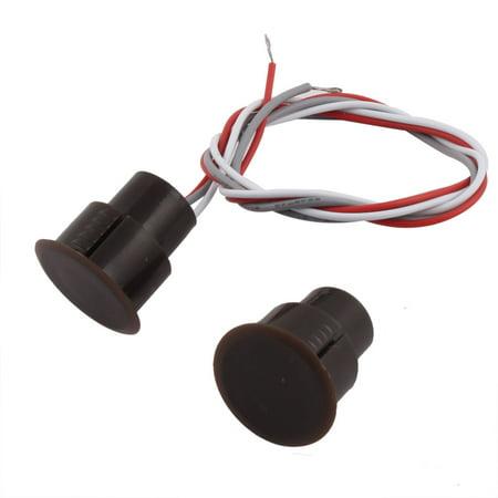 - Door Window NO/NC Recessed Security Contact Sensor Alarm Magnetic Reed Switch