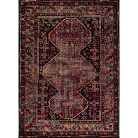 Concord Global Trading Diamond Collection Antique Area Rug