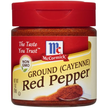 (2 Pack) McCormick Ground Cayenne Red Pepper, 1 oz