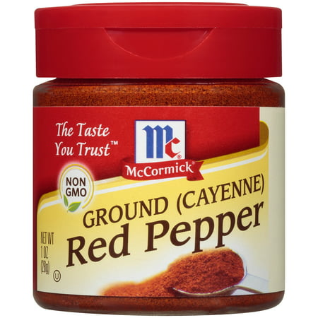 (2 Pack) McCormick Ground Cayenne Red Pepper, 1 oz ()