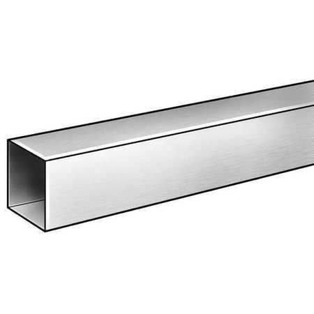 6063 Aluminum Alloy Square Tubing, OD 3/4