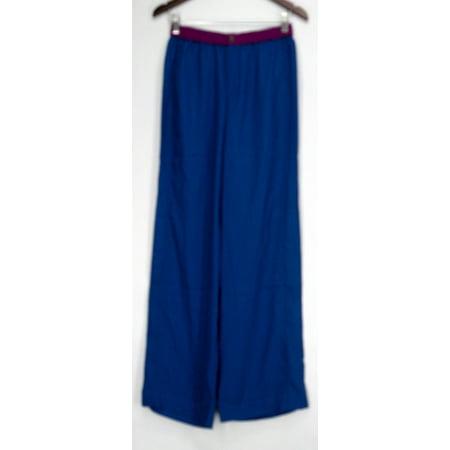 Jennifer Hudson Collection Pants Sz XS Wide Leg Colorblock Style Blue (Hudson Deluxe Wide Leg)