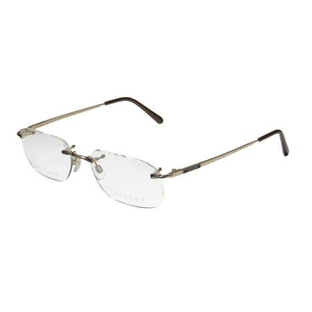 Jaeger Rimless Glasses : Continental Eyewear Jaeger 245 - Walmart.com