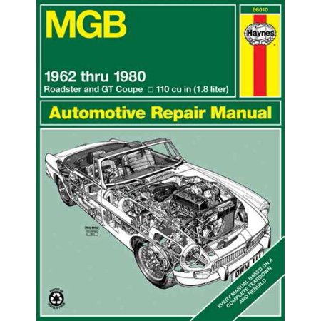 Mgb Automotive Repair Manual