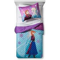 Disney Frozen Twin/Full Quilt and Sham