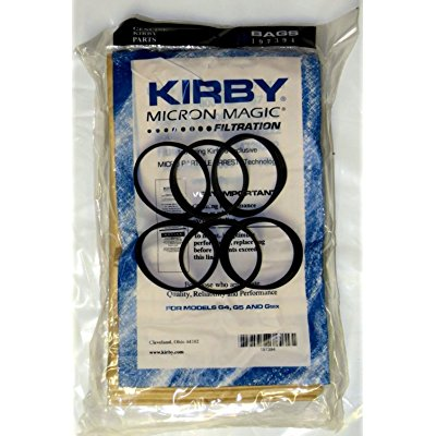6 Belts 9 Sentria Micron Magic Kirby G3-6 UG Vacuum Bags BRAND NEW PRODUCT!!!!!