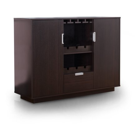 Furniture of america jennel espresso modern multi storage for Furniture of america alton modern multi storage buffet espresso