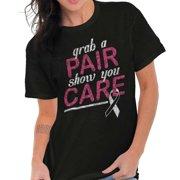 Brisco Brands Grab A Pair Show You Care BCA Lady Short Sleeve T Shirt
