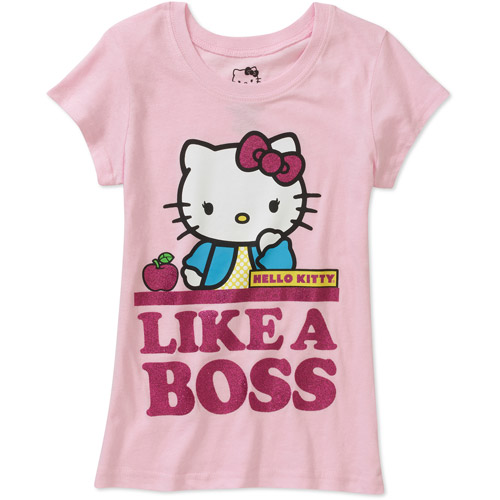 ^^hello Kitty Girls' Graphic Tee